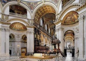 St Paul Cathedral Inside Part