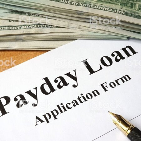 Payday loan form